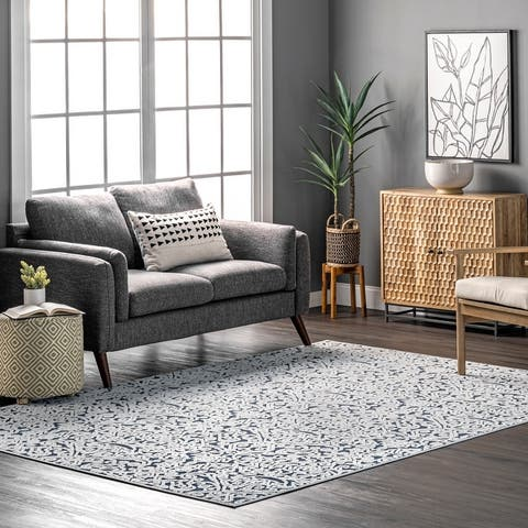 nuLOOM Sonia Textured Transitional Area Rug