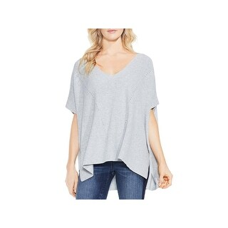 Two by Vince Camuto Womens Pullover Sweater Knit Heathered