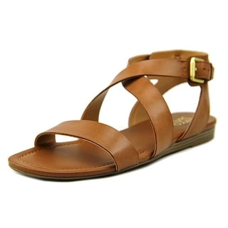 Franco Sarto Glorious Women Open Toe Leather Gladiator Sandal