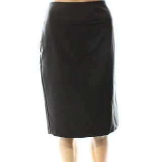 Alfani NEW Gray Urban Olive Women's Size 8 Straight Pencil Skirt