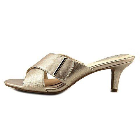 Alfani Womens Larrk Open Toe Casual Mule Sandals