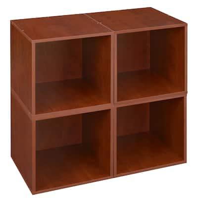Noble Connect Storage Set - 4 Cubes- Cherry