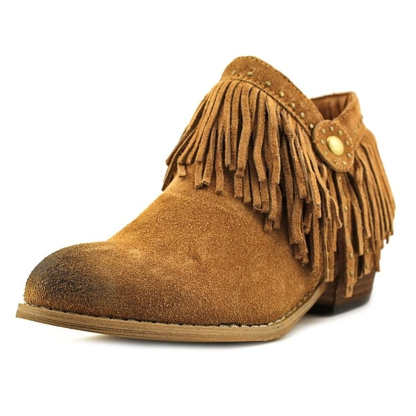 Very Volatile Stall Women Round Toe Suede Ankle Boot