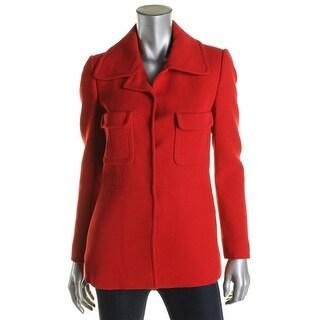 Philosophy Womens Jacket Wool Outerwear - 42