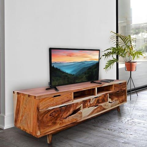 Carthago Live Edge Suar Wood Media Center/Buffet with 6 drawers