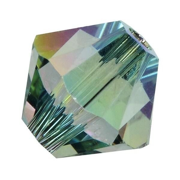 Swarovski Elements Crystal, 5328 Bicone Beads 5mm, 20 Pieces, Crystal Paradise Shine