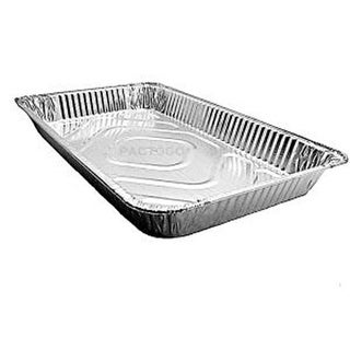 Full Size Medium Aluminum Foil Pan, 21 x 13 x 2 in. - Case of 40