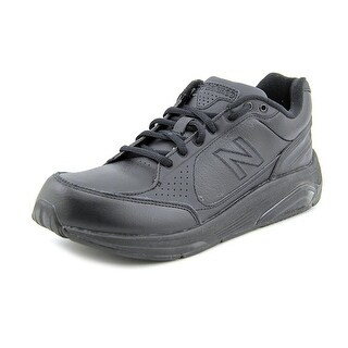 New Balance WW928 Women 2A Round Toe Leather Black Walking Shoe
