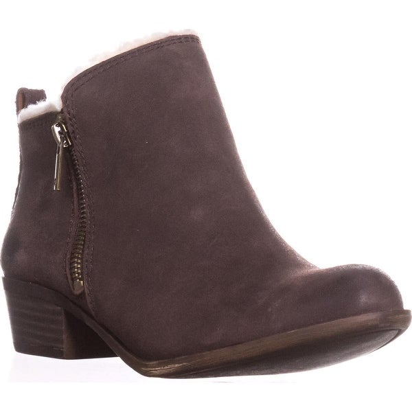 Lucky Brand Basel4 Ankle Booties, Java - 7 us