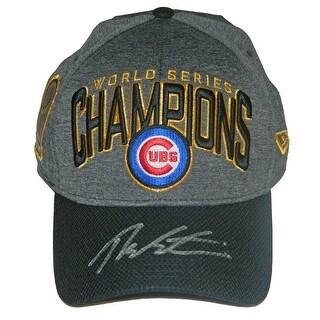 Theo Epstein Chicago Cubs 2016 World Series Champions New Era Locker Room Hat