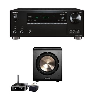 BIC Acoustech Wireless PL-200 with Wireless Kit - Onkyo TX-RZ720 7.2 Channel Network A/V Receiver