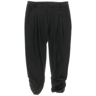 Parker Womens Delvin Wool Pleated Dress Pants