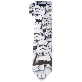 Star Wars NEW White Mens One Size Stormtroopers Movie Novelty Necktie