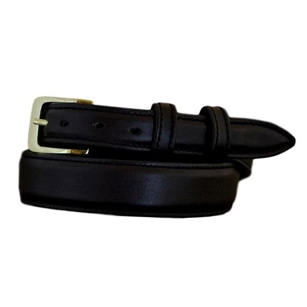 Vogt Silversmiths Western Belts Mens Smooth Stitched Black