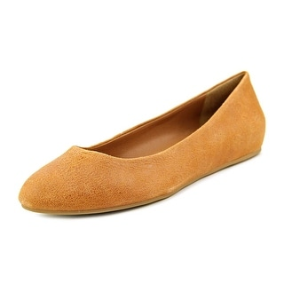 Lucky Brand Bonitah Women Round Toe Leather Flats