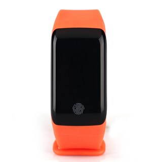 TechComm YX7 Water-resistant Fitness Tracker with Heart Rate Monitor (Option: Orange)