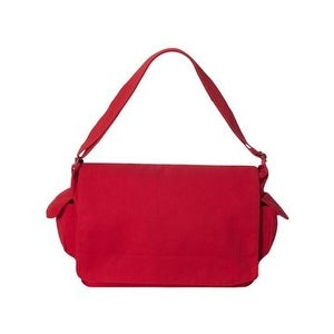 14L Messenger Bag - Red - One Size