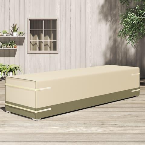 "Sirio 126"" x 41"" Multi-purpose Cover for Outdoor Furniture by Corvus - 126"" x 41"""