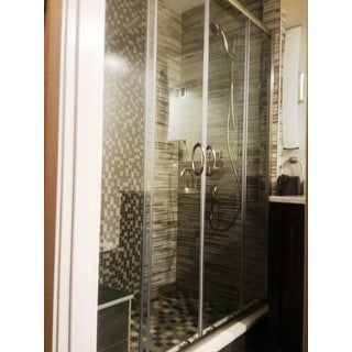Dreamline Visions 56 60x72 Inch Frameless Sliding Shower
