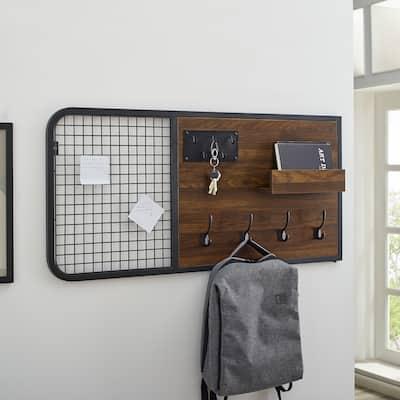 Carbon Loft 42-inch Mixed Material Wall Organizer