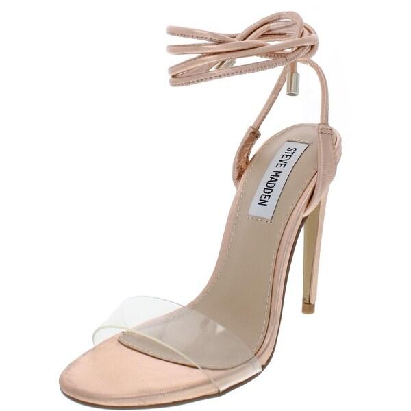 5a5490550dc Shop Steve Madden Womens Lyla Dress Sandals Metallic Leather - Free ...