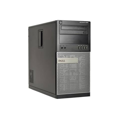 Dell Optiplex 9020 MT Refurb PC - Intel Core i5 4590 4th Gen 3.3 GHz 16GB 256GB SSD +2TB DVD-RW Windows 10 Pro 64-Bit - Wifi