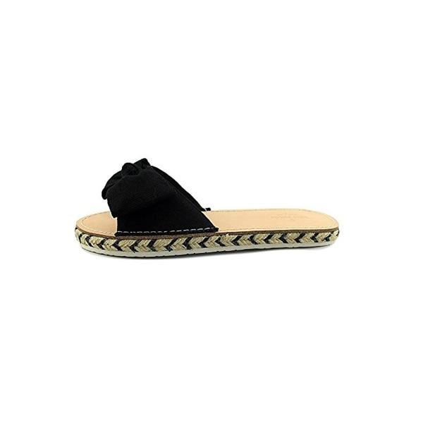 b01aafa85e2a Shop Kate Spade Womens Idalah Slide Sandals Canvas Espadrille - Free ...