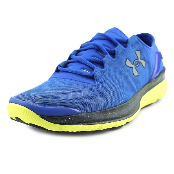 Under Armour Seedform Apollo 2 Clutch Men Round Toe Synthetic Blue Sneakers