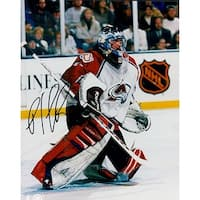 Signed Roy Patrick Colorado Avalanche 8x10 Photo autographed