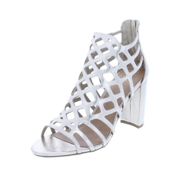ce48d1866bb Shop Material Girl Womens Cadence Dress Sandals Metallic Caged ...