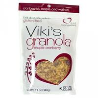 Viki's Granola Cranberry Walnut - Case of 6 - 12 oz.