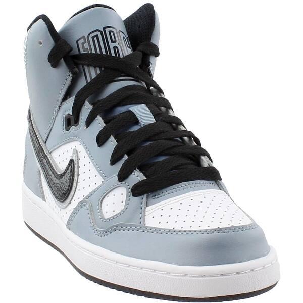 Caligrafía bandeja Oferta  Shop Nike Mens Son Of Force Mid Gs Athletic & Sneakers - Overstock -  24253753