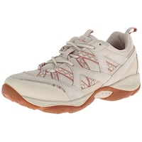 Easy Spirit Womens explore map Low Top Lace Up Walking Shoes
