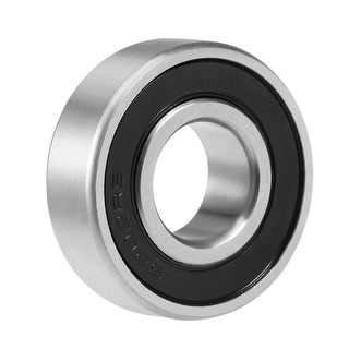 6202-2RS Deep Groove Ball Bearing 15mmx35mmx11mm Sealed Chrome Steel Bearings - 1 Pack