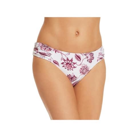 Becca Womens Tahiti Reversible Hipster Swim Bottom Separates