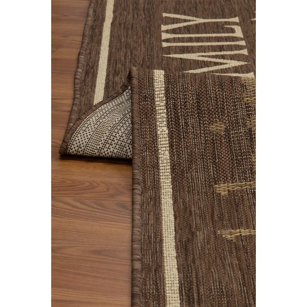 Fw Collection Home Family Polypropylene Indoor Outdoor Area Rug Overstock 27775893