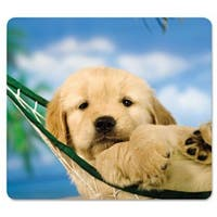 Fellowes Mousepad, Recycled Optical, Puppy in Hammock