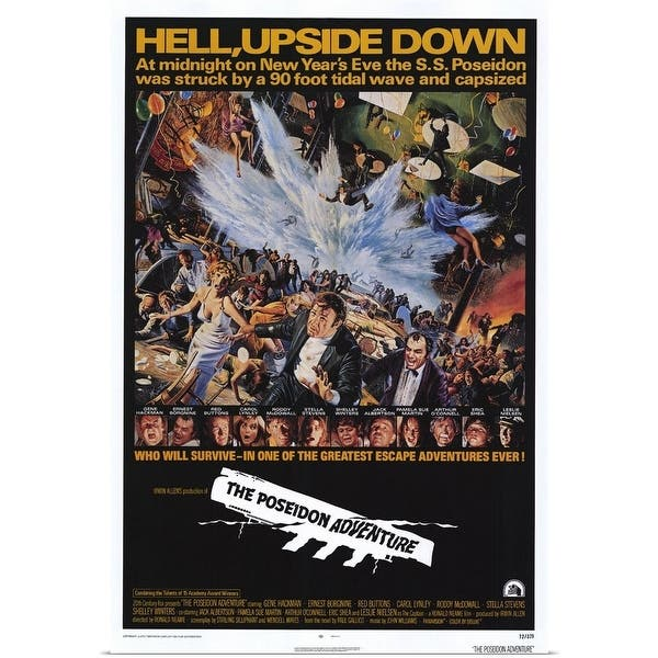 Shop The Poseidon Adventure 1972 Multi Free Shipping