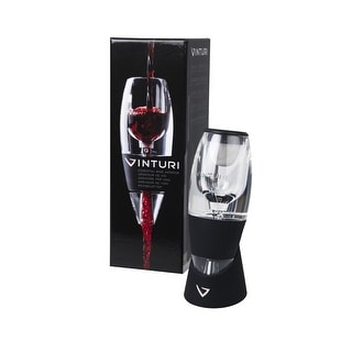 Vinturi 6700 Essential Wine Aerator, Black