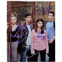 Signed Roswell Jason Behr  Shiri Appleby  Katherine Heigl  Brendan Fehr 8x10 Photo by Jason Behr Sh