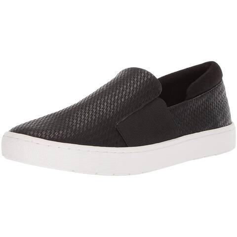 Bella Vita Womens Ramp2 Leather Low Top Slip On Fashion Sneakers
