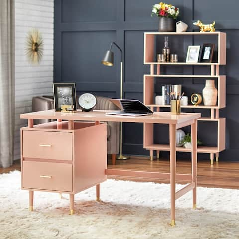 Simple Living Margo 2-drawer Mid-century Modern Desk