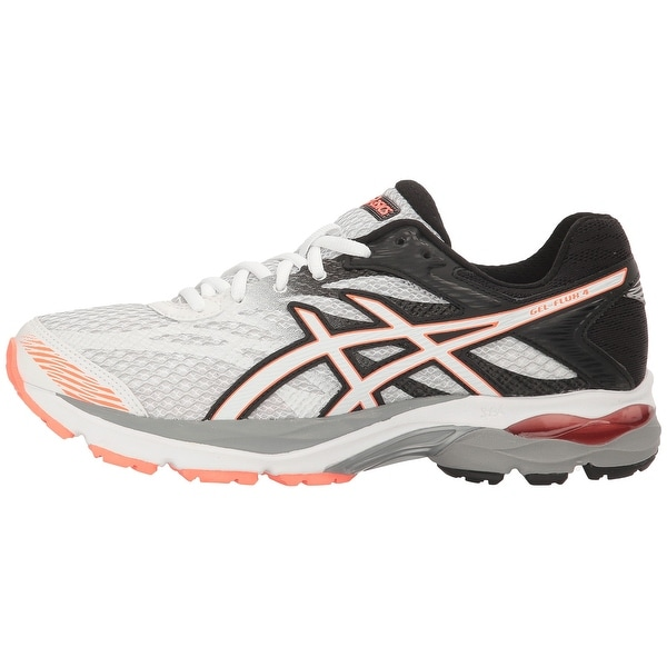 ASICS Womens Gel-Flux 4-T764N Low Top Lace Up Tennis Shoes
