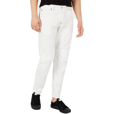 G-Star Raw Mens 5620 Jeans Denim Tapered - Ivory
