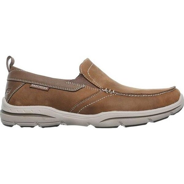 Shop Skechers Men's Relaxed Fit Harper Forde Loafer Desert