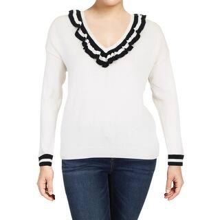 5fd98aa336227 Lauren Ralph Lauren Womens Shrug Shimmer Button · Quick View