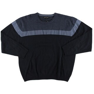 Tricots St. Raphael Mens Big & Tall Pullover Sweater Long Sleeve Colorblock - xxxl