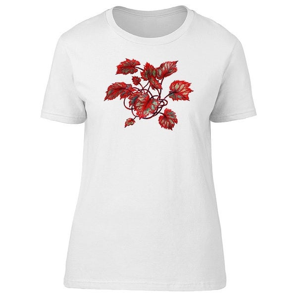 3762767a6b Cool Red Exotic Plant Tee Women's -Image by Shutterstock