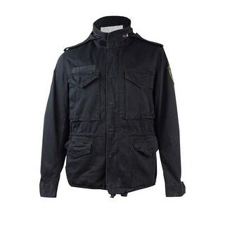 Denim & Supply Ralph Lauren Men's Field Jacket (L, Black) - L