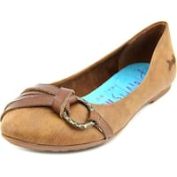 Blowfish Rufio Women  Round Toe Canvas Brown Flats